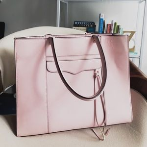 Rebecca Minkoff Large Mab Tote in Baby Pink